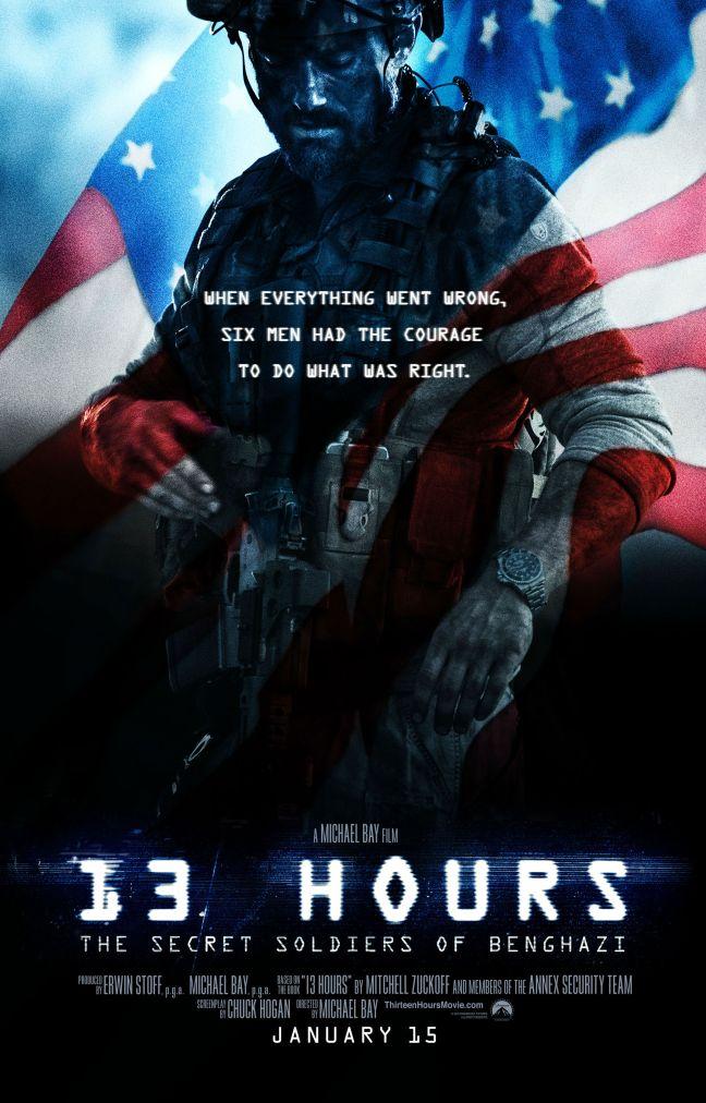 13 Hours The Secret Soldiers of Benghazi (2016)