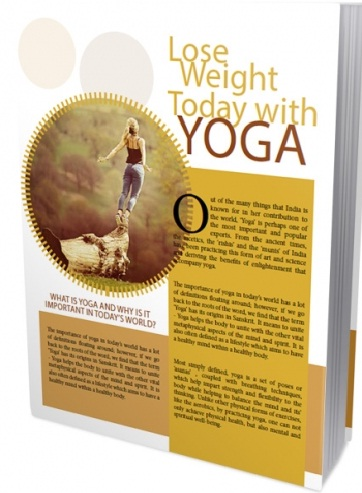 yoga to lose weight book